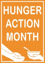 Hunger Action Month Orange